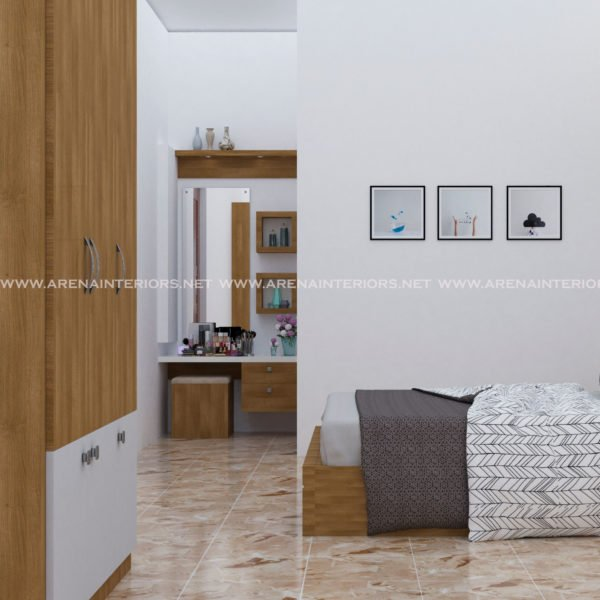 Dressing unit product in bedroom